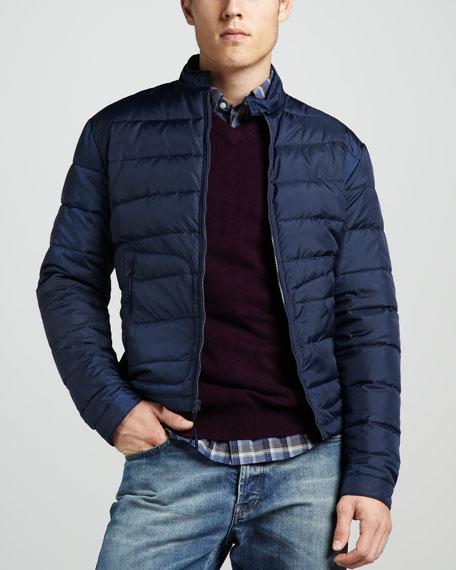Zip Puffer Jacket
