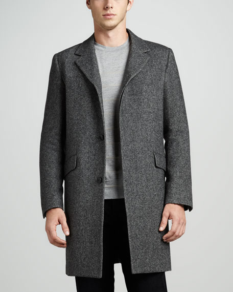 Whyte Twill Coat
