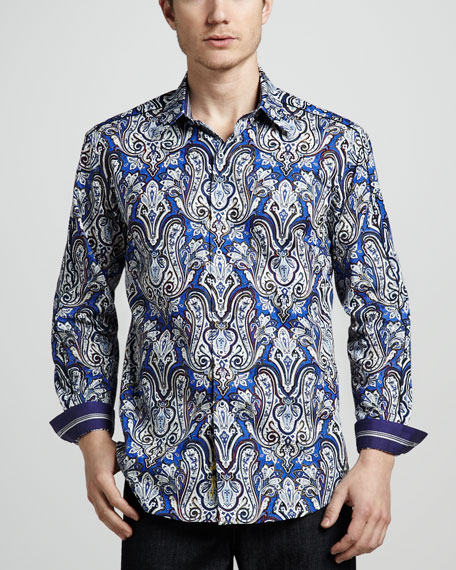 The Casey Paisley Sport Shirt