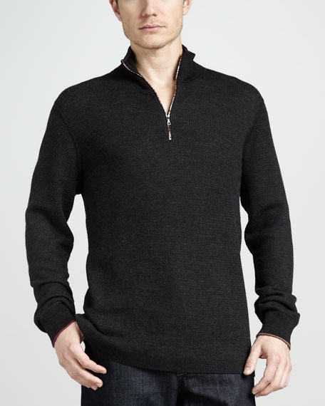 Berkeley Wool Zip Sweater
