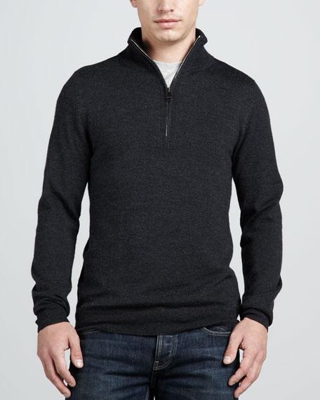 Shoulder Zip Sweater 11