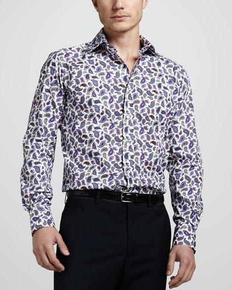Small-Paisley Sport Shirt