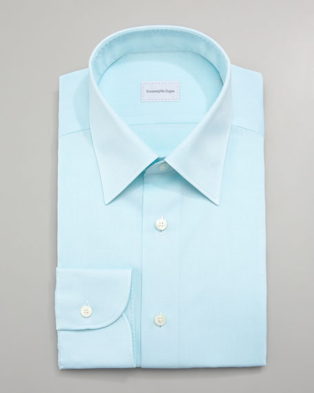 Textured Dress Shirt, Mint
