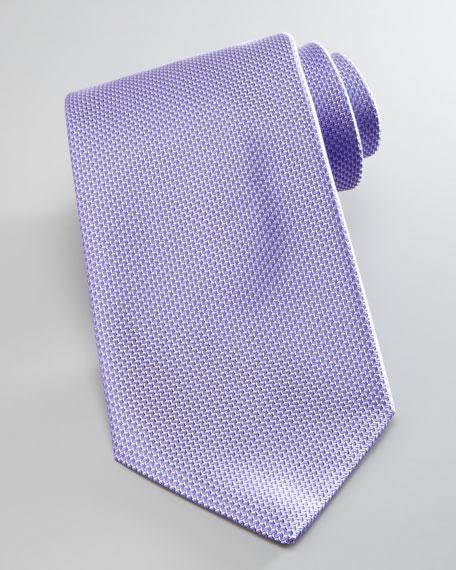 Textured Silk Tie, Lavender