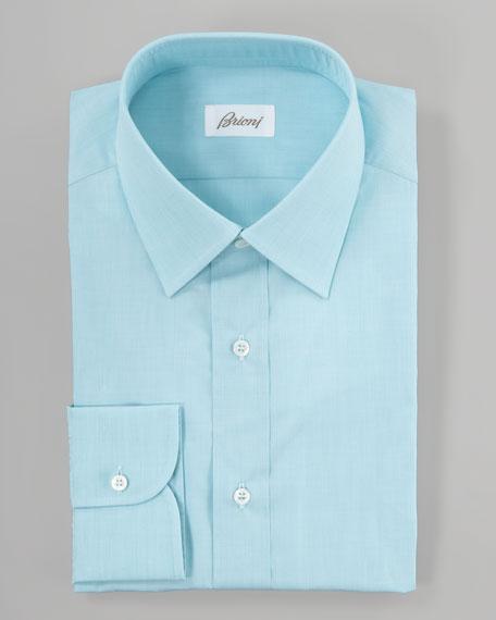 End-On-End Dress Shirt, Mint