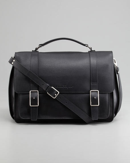 Amalfi Single-Gusset Briefcase