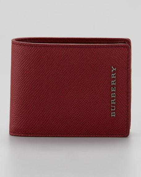 Bi-Fold Wallet, Red