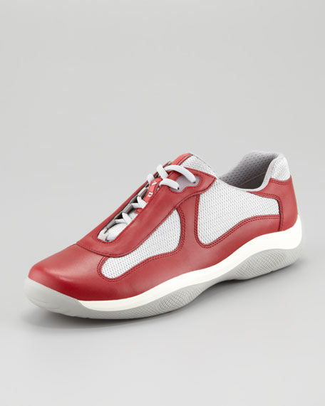 America's Cup Sneaker, Red
