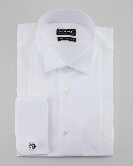 Pique Wing-Collar Dress Shirt