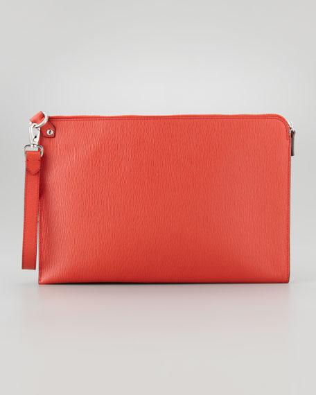 Revival Large Portfolio, Orange-Red