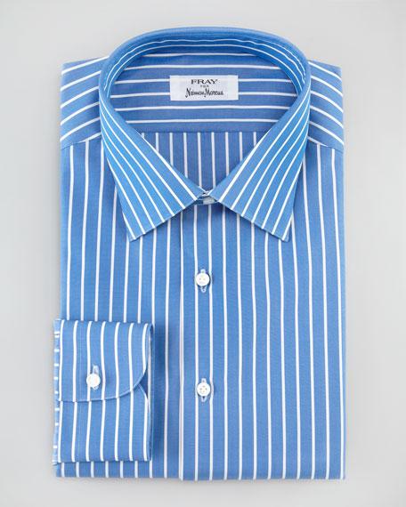 Bengal-Stripe Dress Shirt, Blue