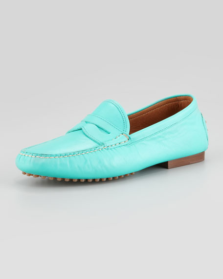 Vachetta Penny Loafer, Blue