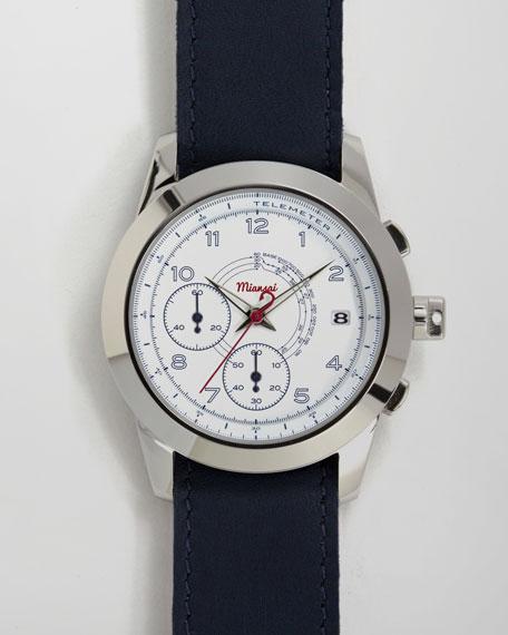 M2 Ribbon-Trim Chronograph Watch, Navy