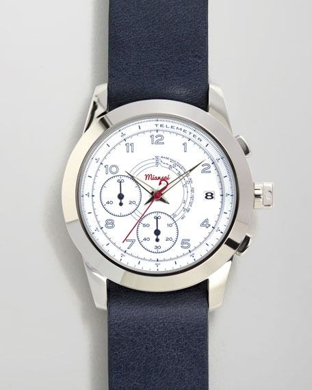 M2 Rope-Strap Chronograph Watch, Blue