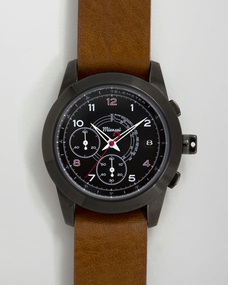 M2 PVD Chronograph Watch, Oil