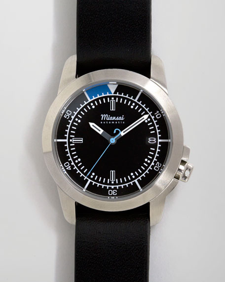 M3 Automatic Watch, Black