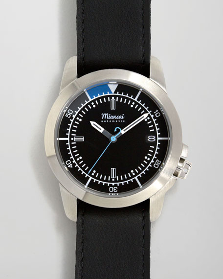 M3 Automatic Watch, Black