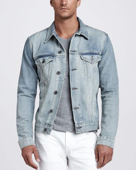 Owen Light Wash Denim Jacket