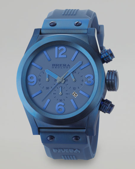 Eterno Chronograph Watch, Blue