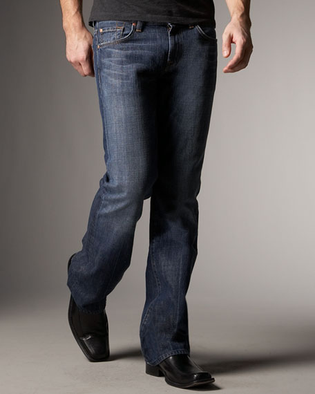 New York Boot-Cut Jeans