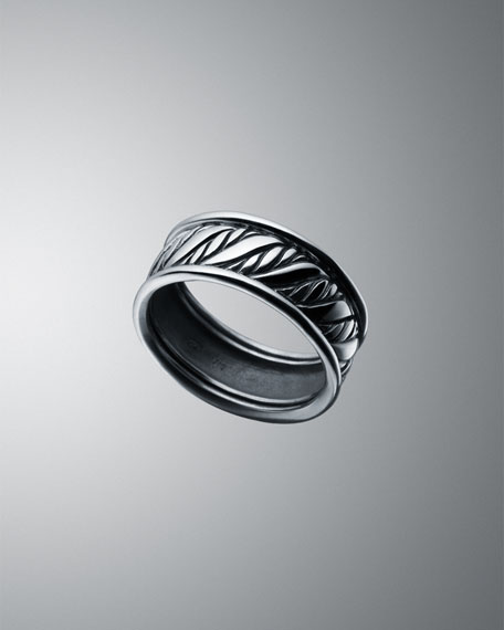 Wide Cable Classics Braided Ring