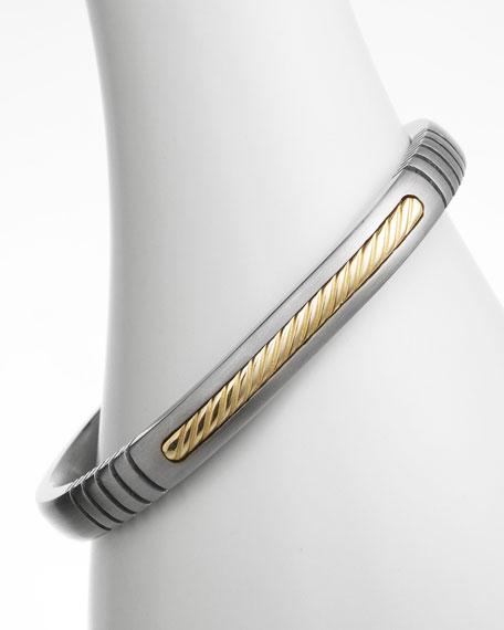 Titanium & Gold Bracelet