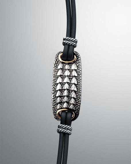 Naturals Alligator Plate Bracelet