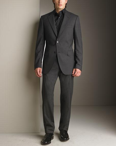 Classic Suit, Charcoal