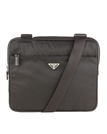 prada handbag website - Prada Nylon Messenger Bag