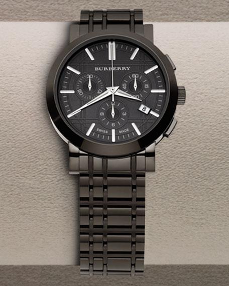 Chronograph Watch, Black