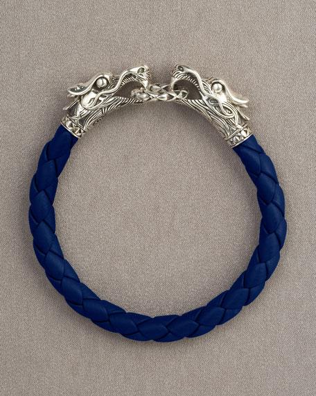 Naga Silver Dragon Bracelet