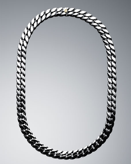 Narrow Curb Chain Necklace