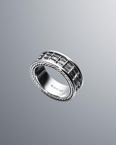Narrow Naturals Sea Horse-Band Ring
