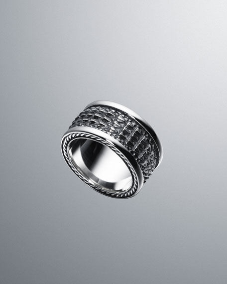 Naturals Alligator-Band Ring