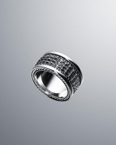 Naturals Alligator-Band Ring