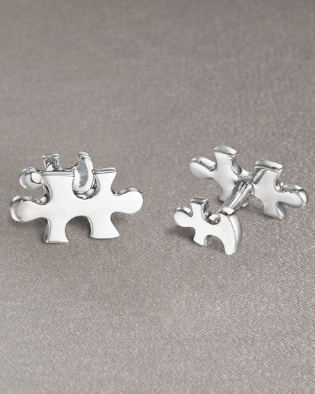 Puzzle Cuff Links