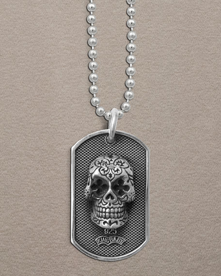 Day Of The Dead Dog Tag