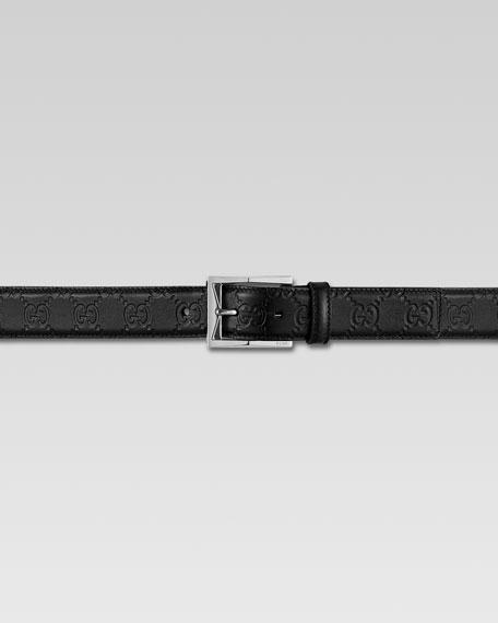 Guccissima Leather Belt
