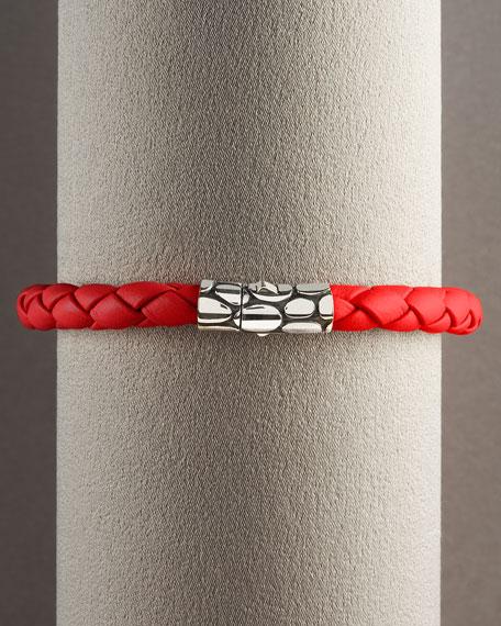 Kali Woven Bracelet, Red