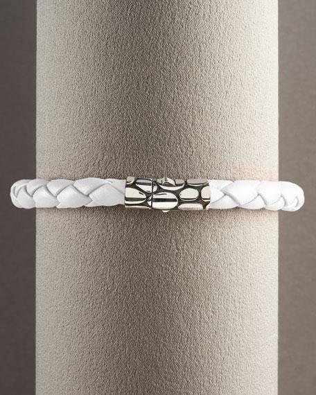 Kali Woven Bracelet, White