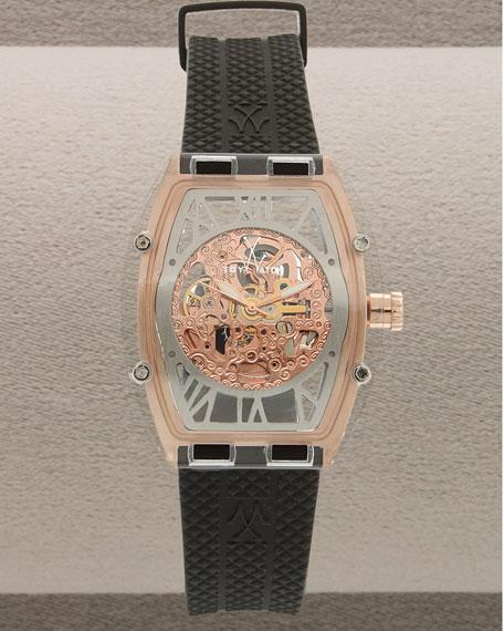 Skeleton Watch, Rose Gold