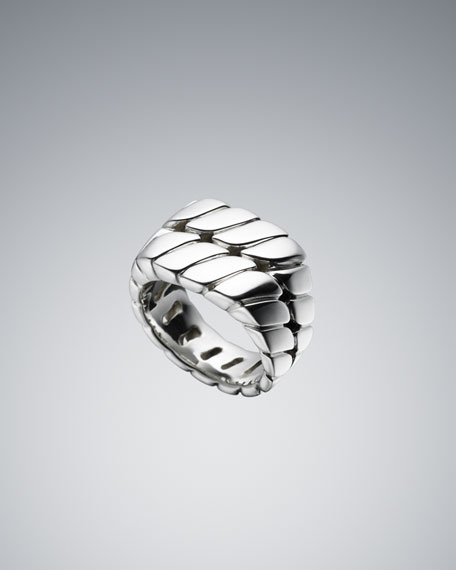 Curb Chain Signet Ring