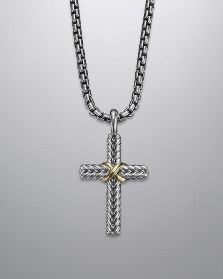 Chevron Cross Necklace