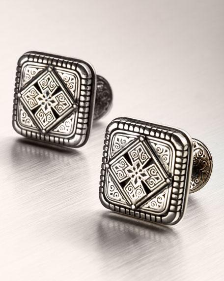 Maltese Cross Cuff Links