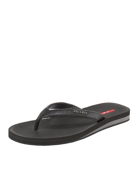 Thong Sandal, Black