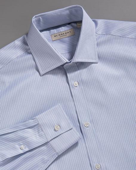 Striped Shirt, Blue