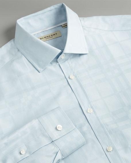 Check Shirt, Light Blue