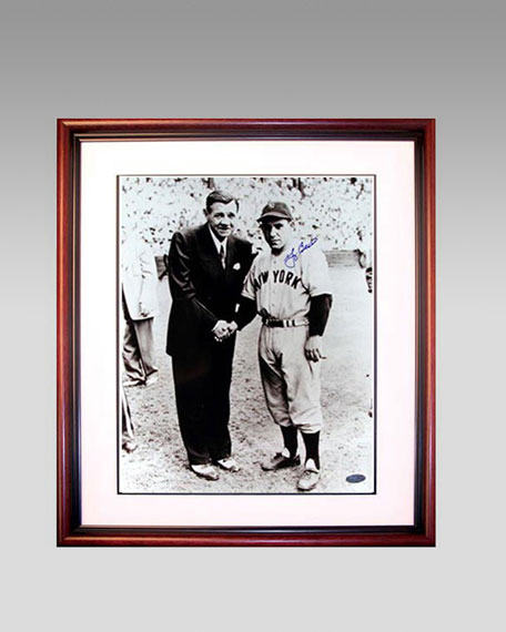 Yogi Berra and Babe Ruth Frame