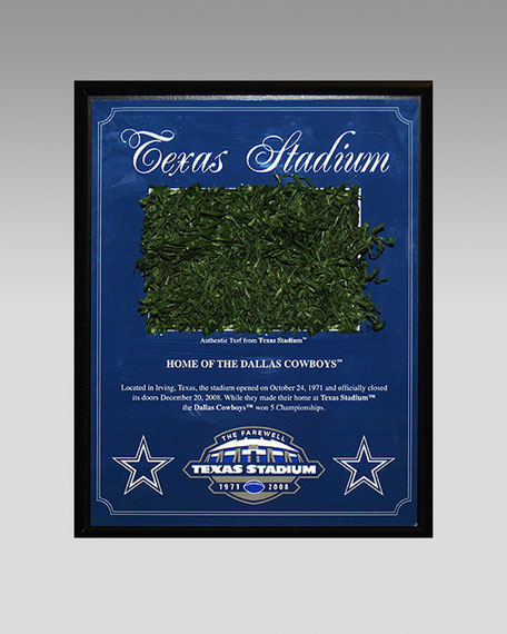 Cowboy Turf Plaque