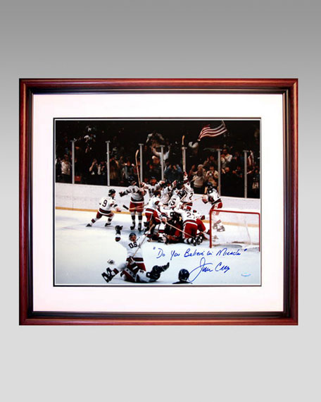 Jim Craig  Framed Photograph